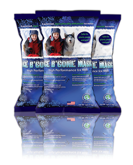 Ice B'Gone Magic 50LB bag, DesignWorks, NH