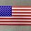 Thumbnail: Red Ti and Blue Titanium USA Flag Patch