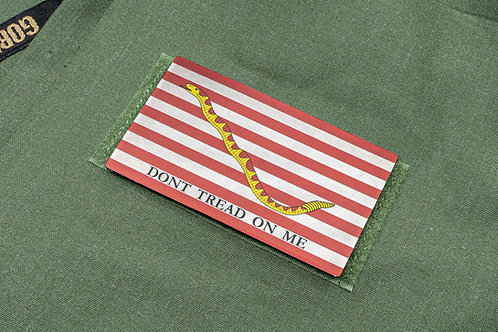 First Navy Jack Titanium Flag Patch