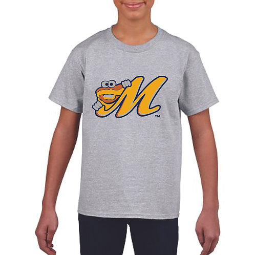"""""""M Biscuit"""" Youth Cotton Tee"""
