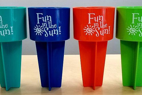 Fun In The Sun Sand Spiker Drink Holder