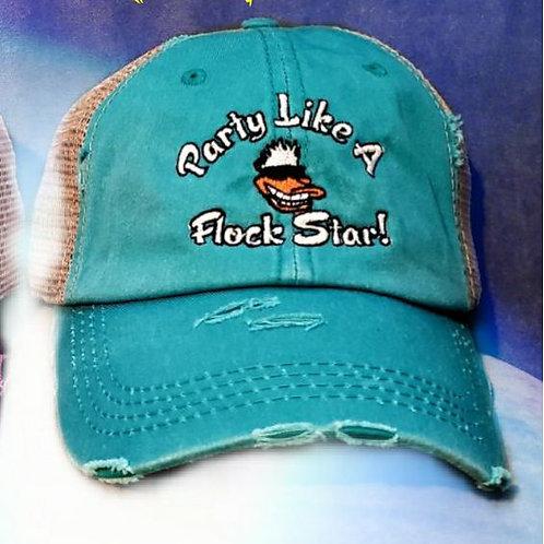 "Social Flockers ""Party Like a Flock Star"" Ponytail Cap"