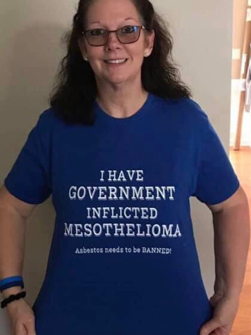Mesothelioma Government Inflicted Tee