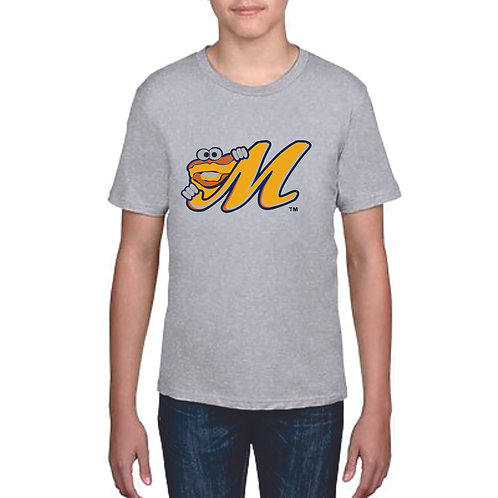 """Youth Softstyle """"M Biscuit"""" Tee"""