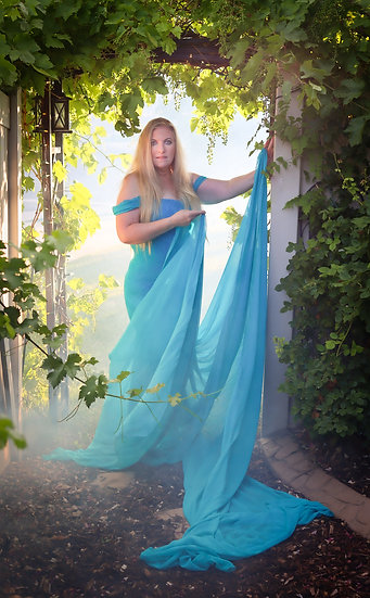 The Blue Willow Gown-Sew Trendy