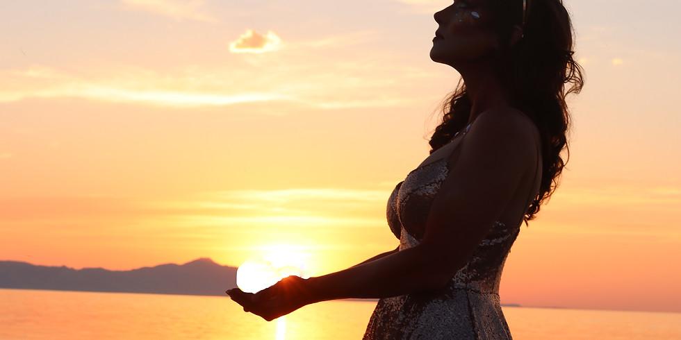 Goddess of the Sun, Moon & Stars