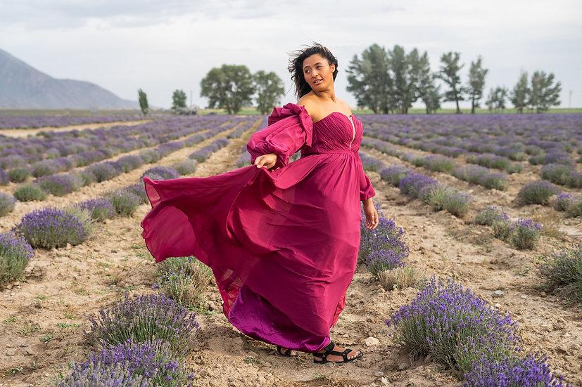 The Desert Rose Gown