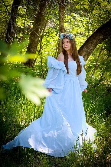 Goddess in Blue
