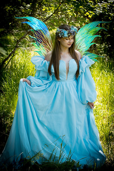 Calypso Wings - Extra Large Adult Iridescent Fairy wings