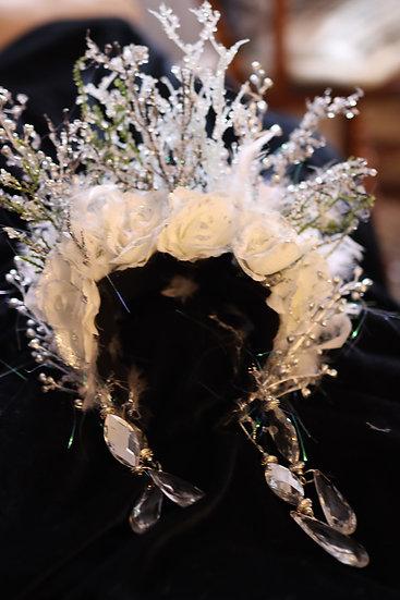 Ice Goddess Headpiece