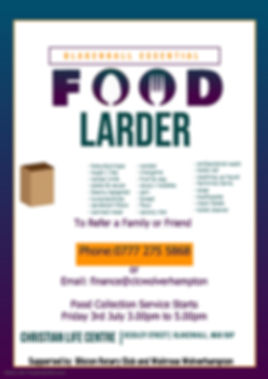 Copy of Food Pantry - Made with PosterMy