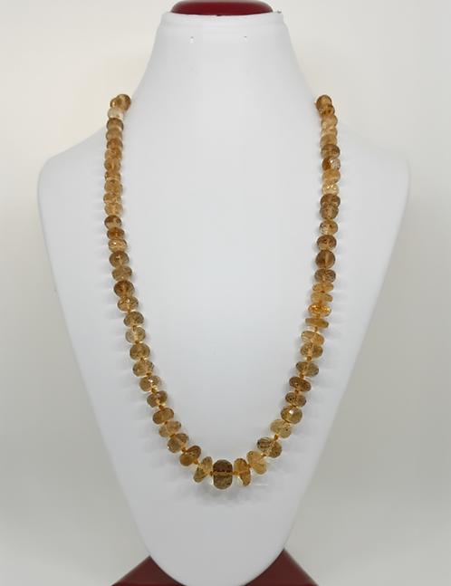 Citrine Necklace (High Grade)