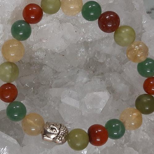 Abundance Bracelet for Health & Prosperity