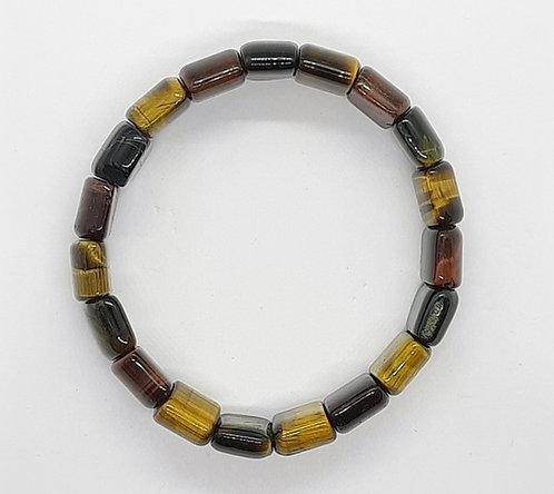 Tiger's Eye Bracelet (Square)