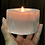 Thumbnail: Selenite Candle Stand