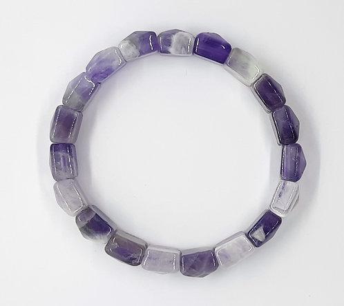 Amethyst Bracelet (Square)