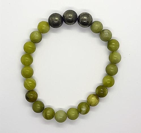 Jade Bracelet (Lime Green)