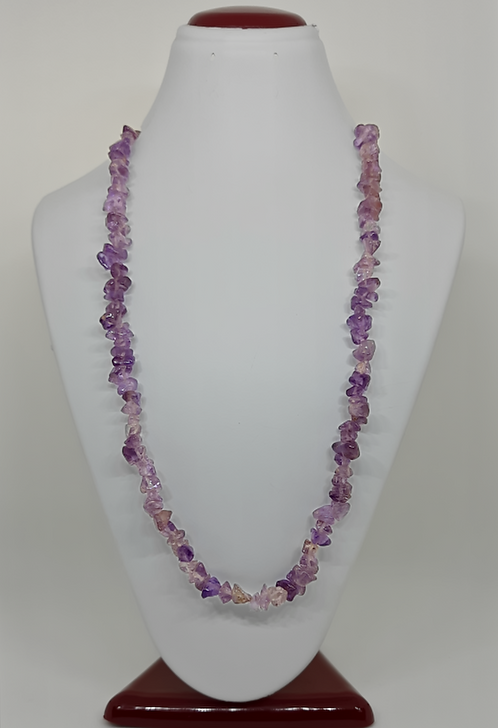 Amethyst Chips Necklace