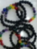 Lava Bracelet with seven chakra stones.j