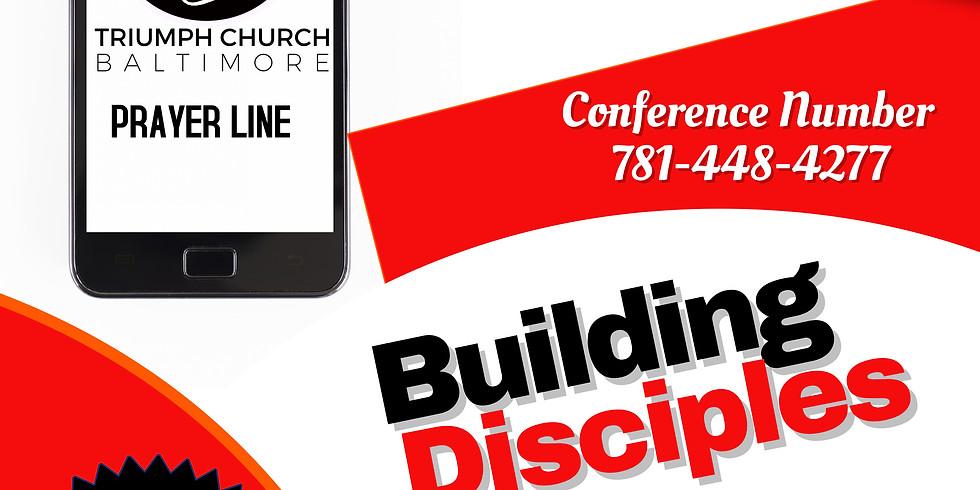 Building Disciples Prayer Line