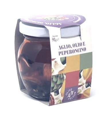 Garlic, Chili, Extra Virgin Olive Oil   gr 90