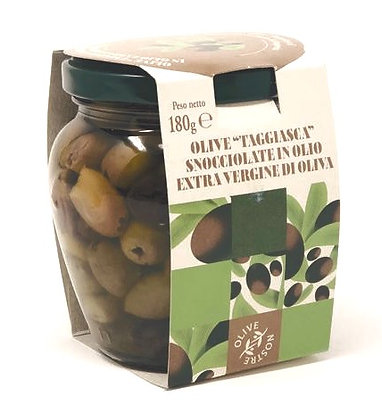 Italian Taggiasca Olives  gr. 180