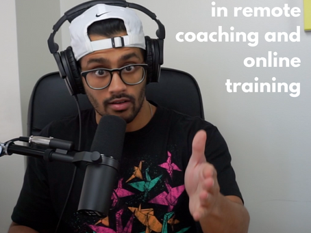 The #1 myth in remote coaching and online training