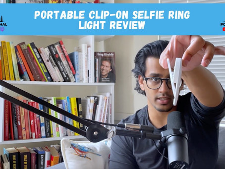Portable Clip-on Selfie Ring Light Review (Xinbaohong)