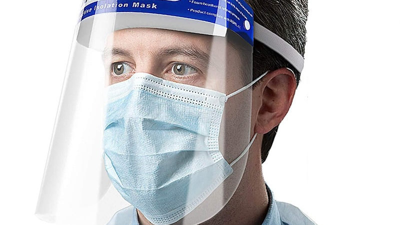 Medical Disposable Face Shield PK 20