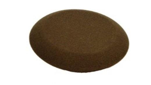 "Interior Round Charcoal 4.5""x1"" Foam Applicator"