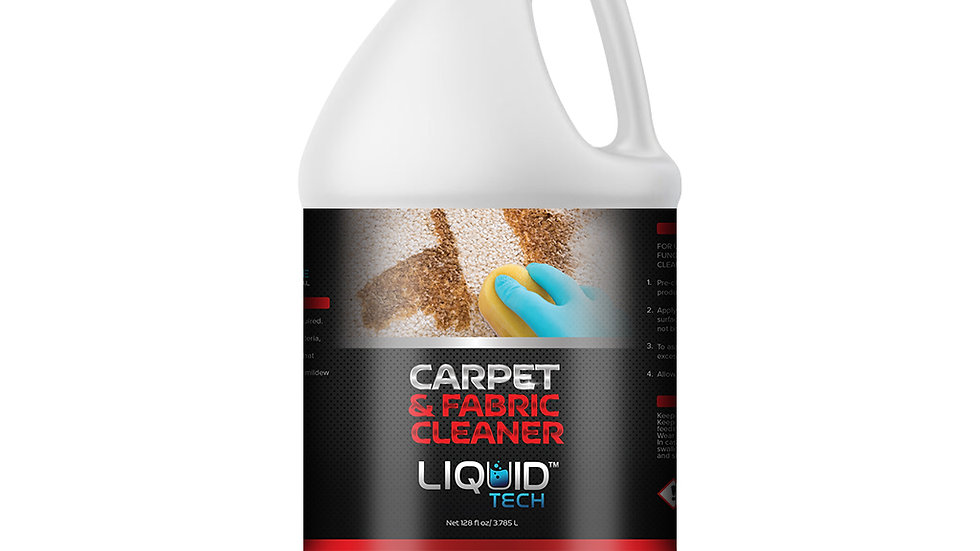 Carpet and Fabric Cleaner - 128oz