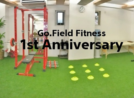 Go.Field Fitness 1st Annivesary