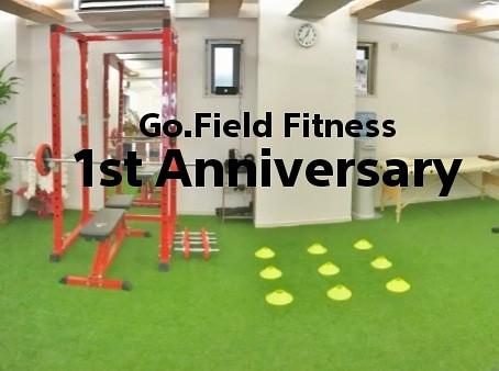 Go.Field Fitness 1st Annivesary