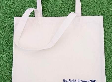 Go.Field Fitness 1st Anniversary オリジナル トートバッグ プレゼント★