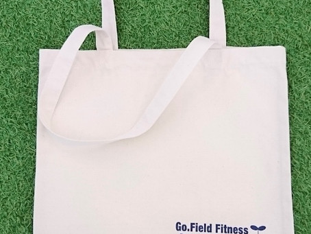 Go.Field Fitness 1st Anniversary オリジナル トートバッグ プレゼント★