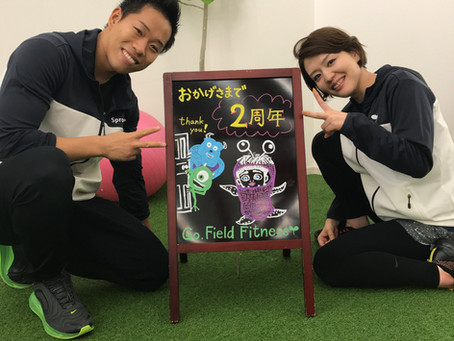 ★☆Go.Field Fitness!2nd Anniversary☆★