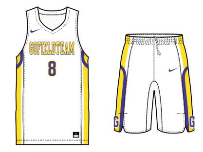NIKE バスケットボール チームユニフォーム カスタムオーダー|バスケもGo.Field TEAMで作成しよう!