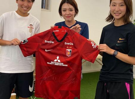 女子プロサッカー選手が遊びに来てくれました~(^o^)/♪♪