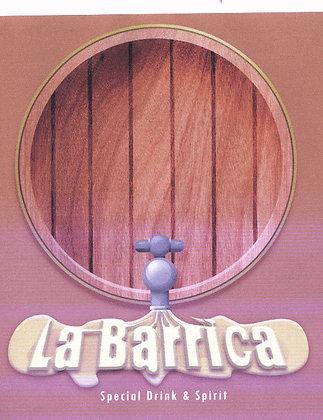 Diseño serigrafiado para La Barrica
