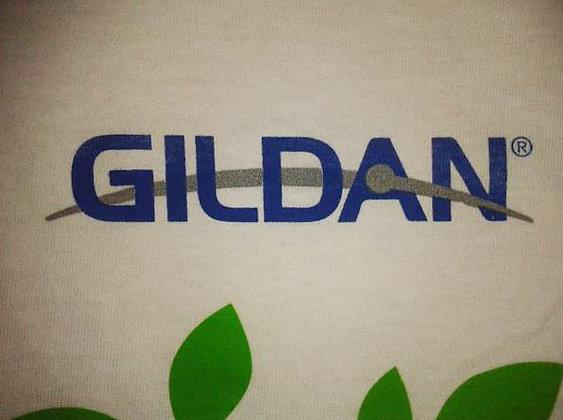 Logo Gildan serigrafía