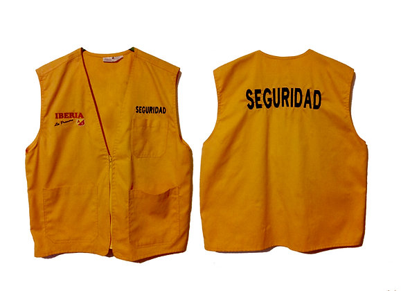 Uniforme bordado de seguridad