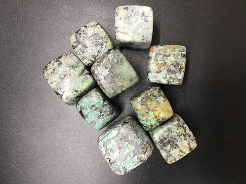 African Turquoise Polished