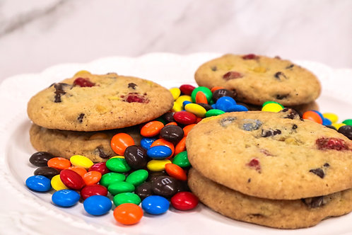 6- Pack M&M Chocolate Chip Cookies