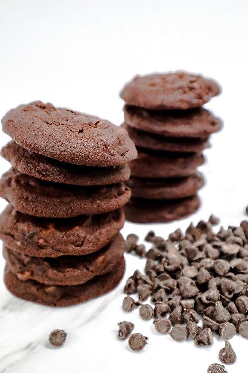 6-Pack Triple Chocolate Cookies