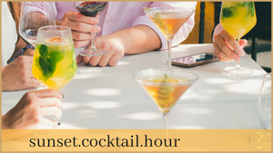 Sunset Cocktail Hour Theme