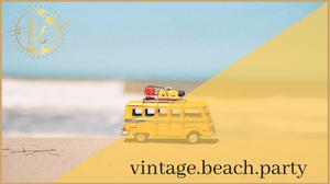Vintage Beach Party Theme