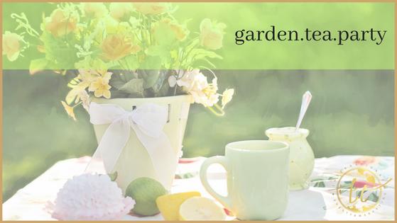 Garden Tea Party Theme