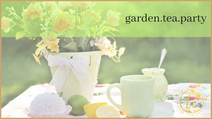 Garden Tea Party Theme