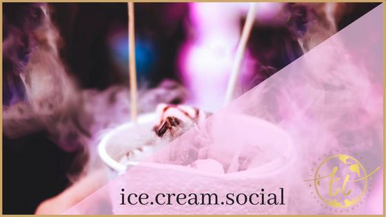Ice Cream Social Theme