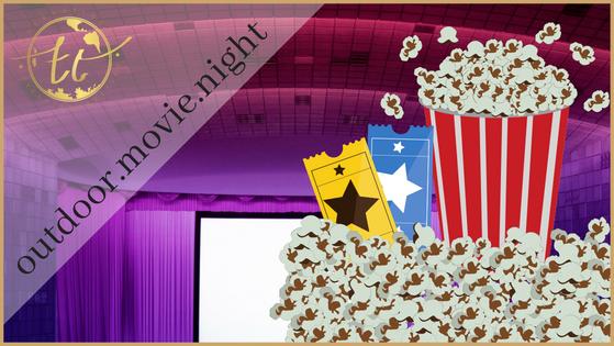 Outdoor Movie Night Theme